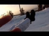 Катание на сноутюбах. Лучшие моменты